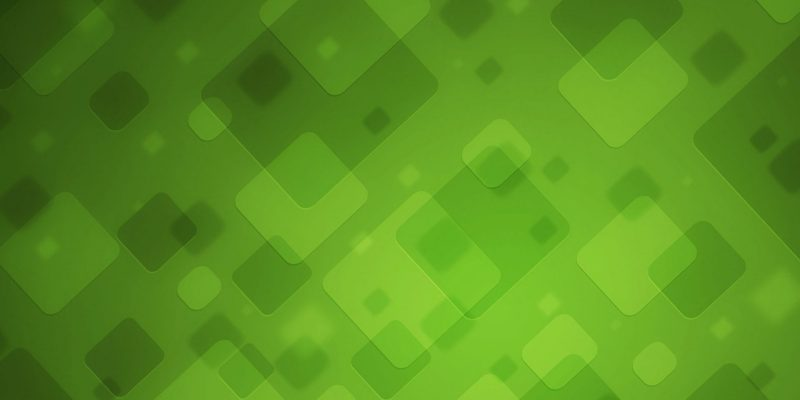 green-square-abstract-background